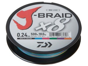 Plecionka Daiwa J-Braid 150m 0,06mm Multicolor