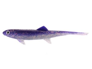 Guma DAM EFFZETT - SPLIT TAIL 90mm - Purple Haze / SB=8
