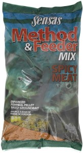 Zanęta Sensas do metody METHOD MIX SPICY MEAT 1kg
