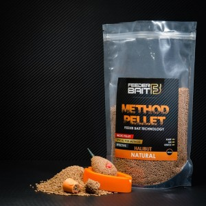 Method Pellet Feeder Bait Natural Halibut 2mm 800g