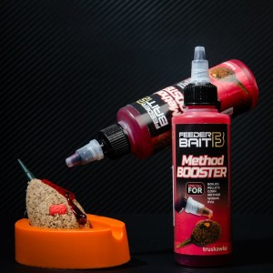 Method Booster Feeder Bait 100ml Truskawka