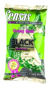 Zanęta Sensas CRAZY BAIT BLACK WITH MUSSEL & SQUID 1kg