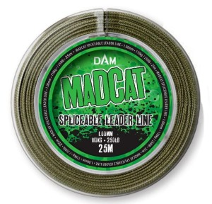 Linka przyponowa MADCAT Spliceable Leader Line 1mm 25m