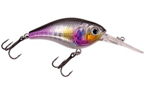 Wobler Dam Effzett Pro-Lite Deep Crank 50mm Purple Flash