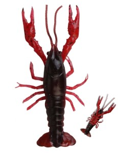 Guma Rak Savage Gear 3D Crayfish 8cm 4g Red 4szt