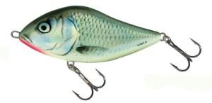Wobler Salmo Slider- Holo Grey Shiner- 5,0cm/8,5g- Tonący