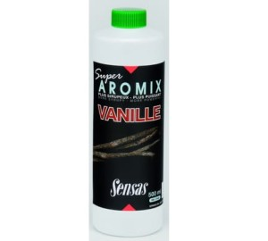 Koncentrat atraktor booster Sensas SUPER AROMIX VANILLE 500ml