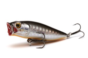 DAM Wobler Baby Popper 35mm Minnow