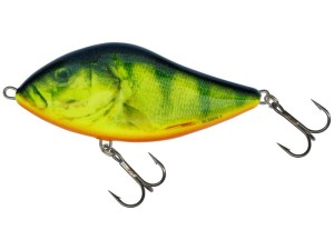 Wobler Salmo Slider Sinking SD7S Real Hot Perch
