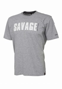 Koszulka Savage Gear Tee - Light Grey Melange XL
