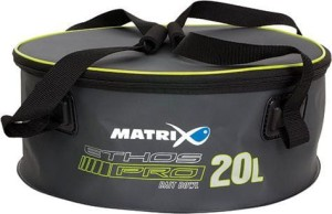 Fox Matrix Ethos Pro EVA Groundbait Bowl 20l with Lid & Handles (GLU067)