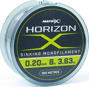 Fox Matrix Horizon X Sinking Monofilament - 4lb 0.22mm 300m (GML024)