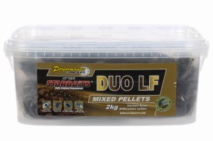 Pellet Starbaits Duo LF Pellets Mix 2kg 6mm