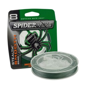 Plecionka Spiderwire Stealth Smooth 8 Moss Green 8,0kg  0.09mm 150m