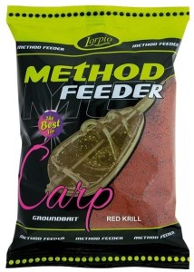 Zanęta Lorpio Method Feeder Red Krill 700g