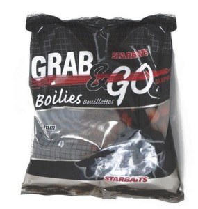 Kulki zanętowe Starbaits Grab & Go Strawberry 14mm 1kg