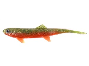 Guma DAM EFFZETT - SPLIT TAIL 140mm - Orange Belly / SB=5
