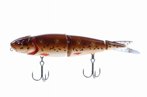 Wobler Savage Gear 4play Herring Swim&Jerk 19cm 52g Brown Burbout