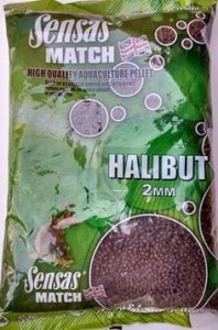 Pelet Sensas PELLETS MARINE HALIBUT 2MM 750g