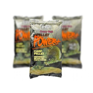 Zanęta Sensas CRAZY BAIT PELLET POWER CARP 1kg