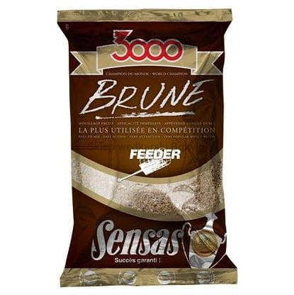 Zanęta Sensas 3000 Brune Feeder 1kg