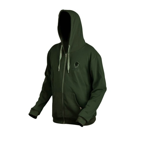 Bluza z kapturem Prologic Bank Bound Zip Hoodie Green roz. XL
