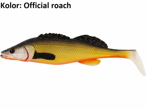 ZanderTeez ShadTail 12cm 21g Official Roach