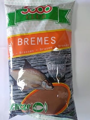 Zanęta 3000 Sensas Club Bremes Brune 1kg
